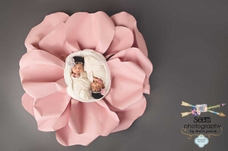 Pedal Twins Newborn SEEM photography
