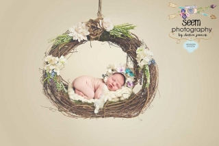 Newborn Swing SEEM photography