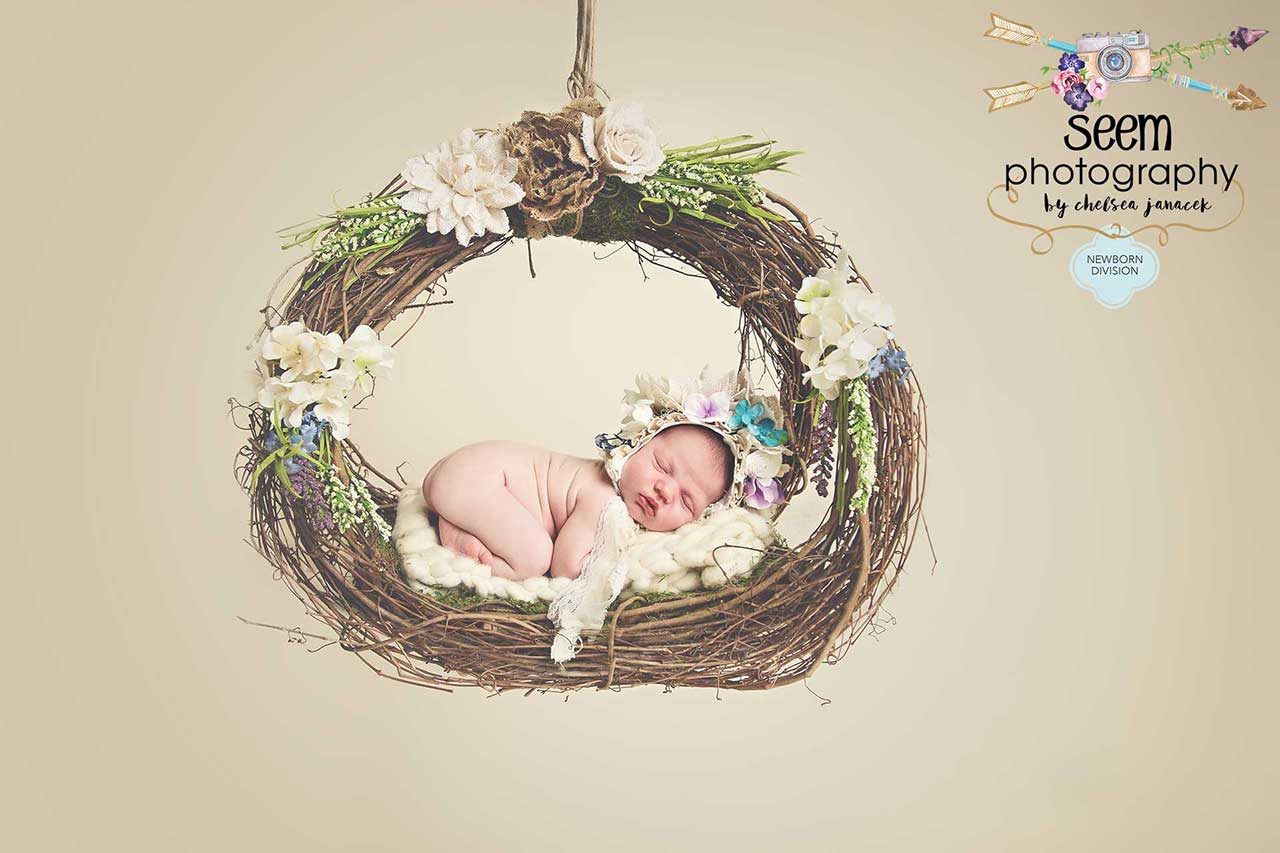 Newborn Swing SEEM photography