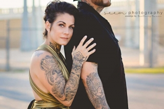 Houston Engagement Photographers SEEM photography Embrace Behind