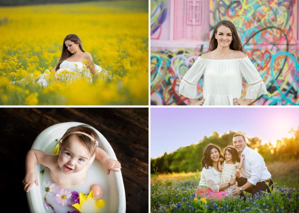 Houston Photographers SEEM photography Limited Edition Collage