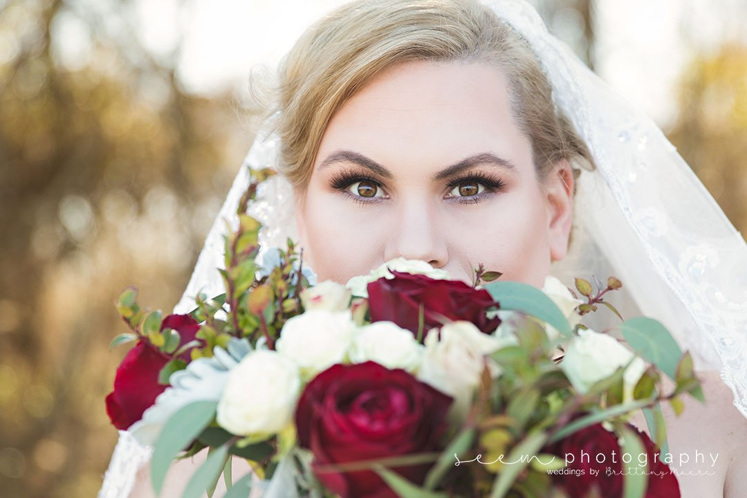Houston Wedding Photographers SEEM photography Bride Bouquet