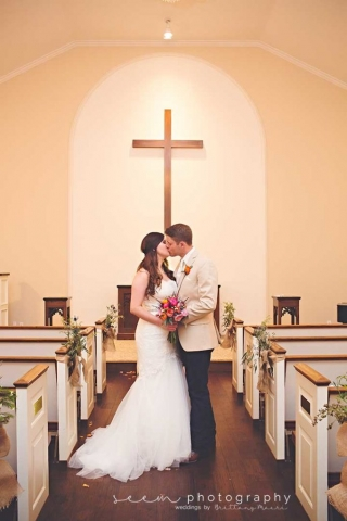 Houston Wedding Photographers SEEM photography Church Embrace