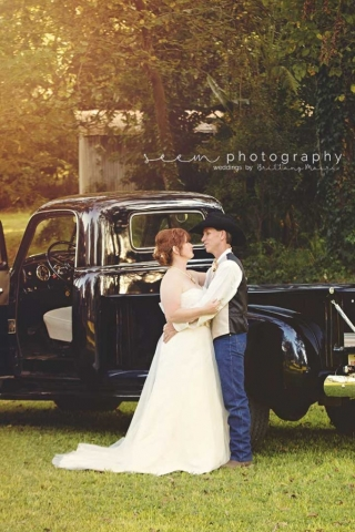 Houston Wedding Photographers SEEM photography Cowboy Embrace