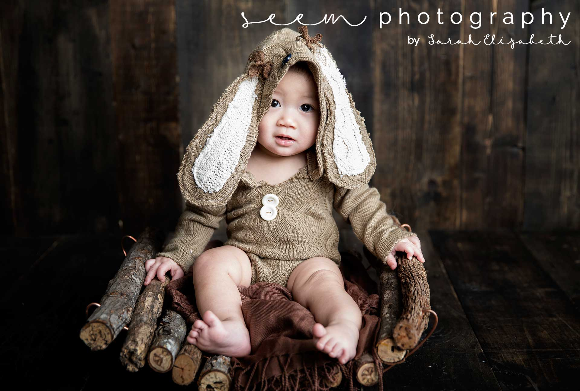 Houston Sitter Photographers SEEM photography Rabbit Ears