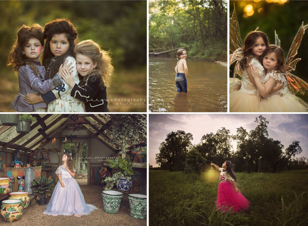 SEEM photography Creek Fairy and Dresses