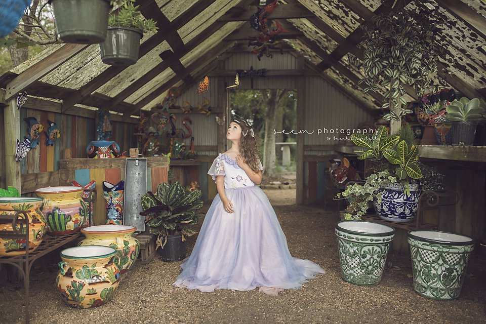 SEEM photography Dress in the Greenhouse