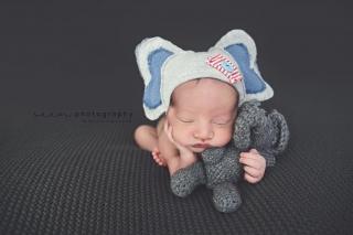 SEEM photography Newborns Elephant Outfit