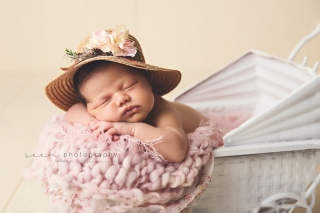 SEEM photography Newborns in a Carriage