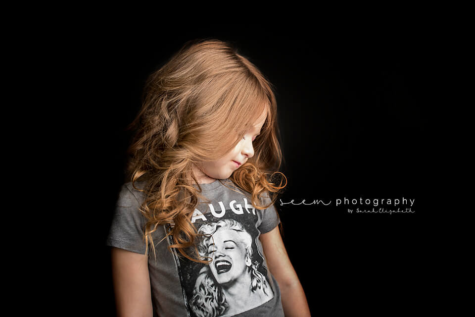SEEM photography Child in Laugh Shirt