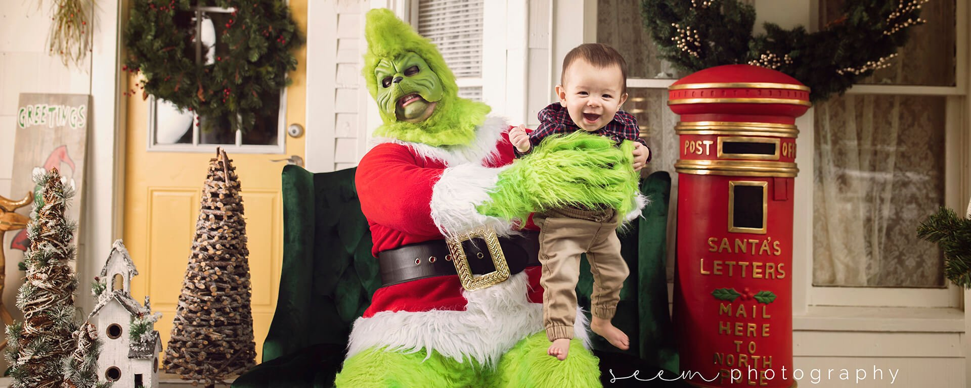 SEEM photography Grinch Stinky Baby
