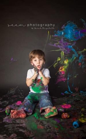 SEEM photography OH NO! Paint Smash