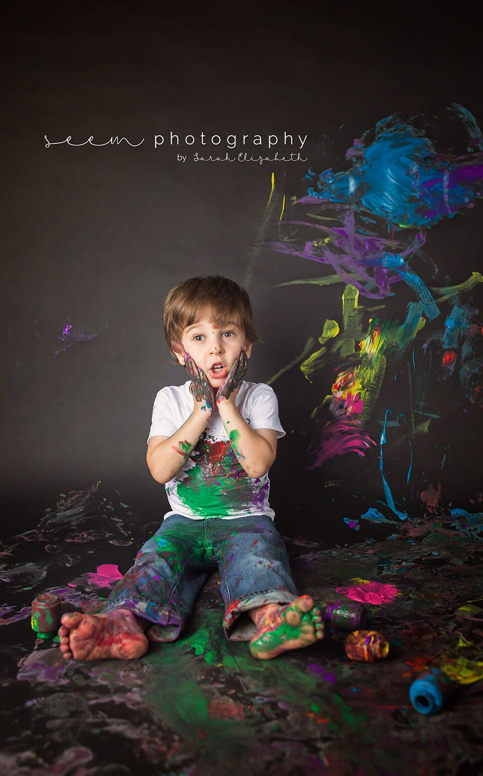 SEEM photography OH NO! Paint Smash