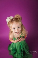 SEEM photography Smiling Child with Purple Background