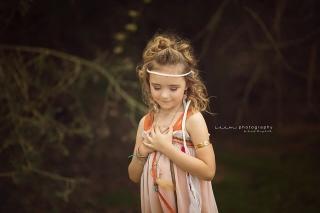 SEEM photography Boho Child in Field