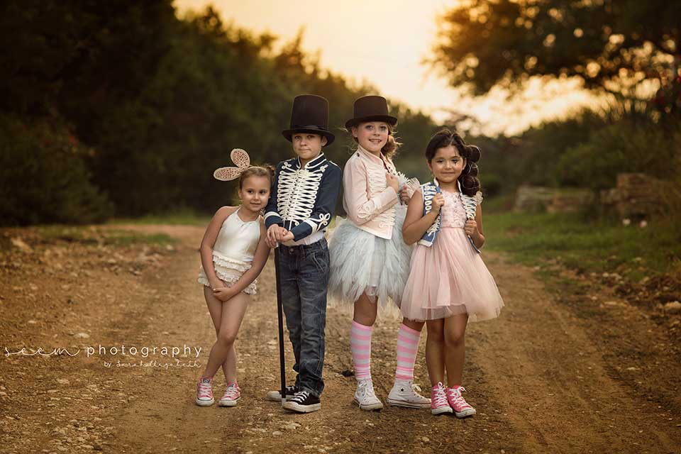 SEEM photography Child Costume Group